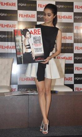 Shraddha Kapoor at the Filmfare Magazine cover launch at Reliance Digital, Prabhadevi.13