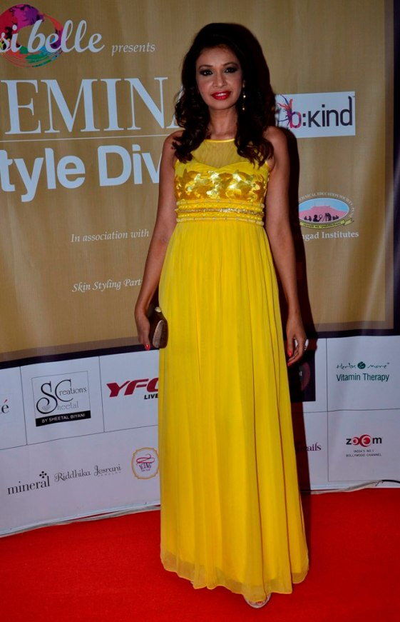 Achla Sachdev at the 'Femina Style Diva 2014' finale