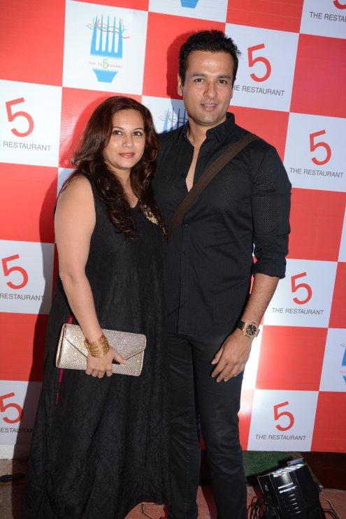 Manasi & Rohit Roy