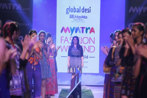 Myntra Fashion Weekend 2014 presents Mimamo Collection by Global Desi (2)