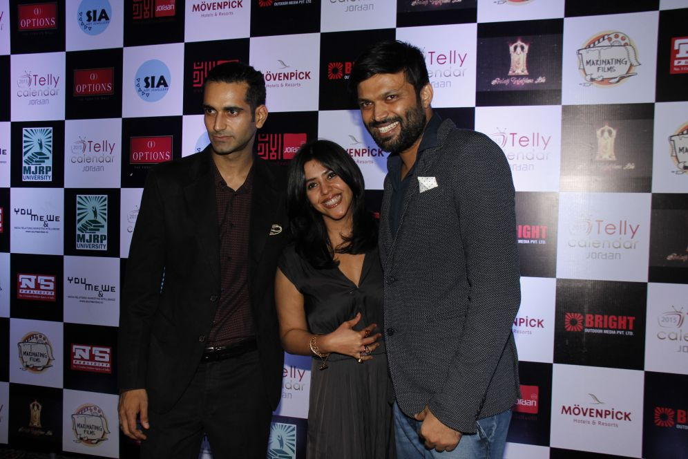 Marinating Films, M.D. Sunny Arora and Anand Mishra with Ekta Kapoor