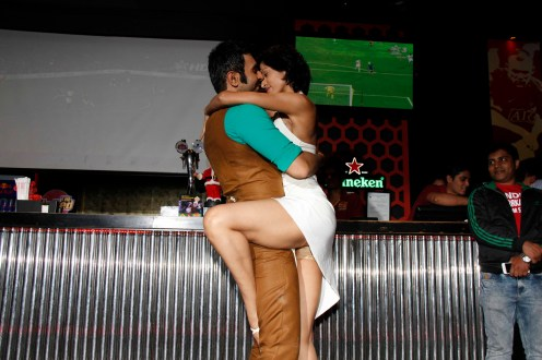 Sandip dancing with wife jesse