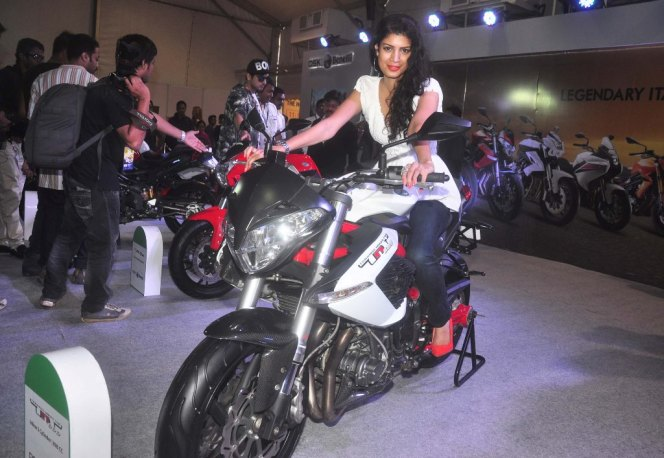 Tena Desae at the 'Autocar Performance Show 2014.3