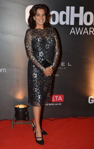 Celebs at the Red Carpet of GoodHomes Awards 2014 at Sofitel,BKC.3