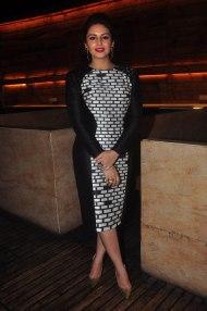 Huma Qureshi at the CineBlitz magazine cover launch at SheeSha Sky Lounge Gold, Juhu.16