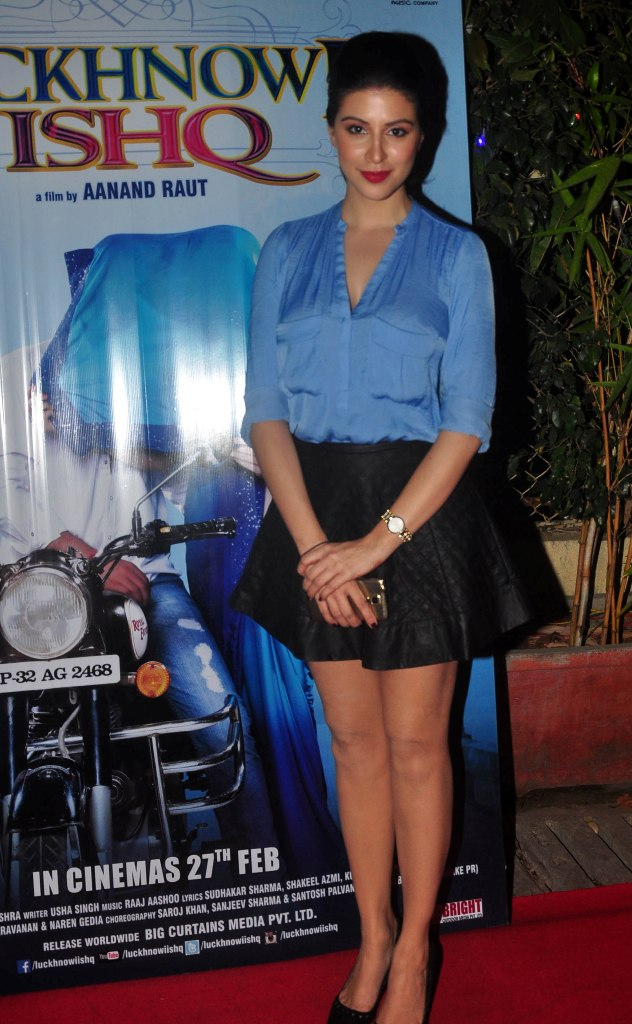 Karishma Kotak at the First Look & Music Launch of film Luckhnowi Ishq