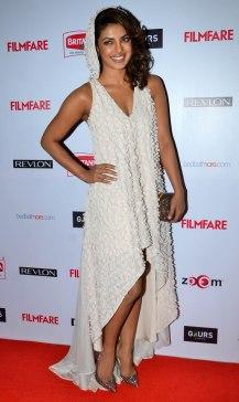Priyanka Chopra at the Red Carpet of '60th Britannia Filmfare Awards 2014' Pr Awards Party at Hyatt Regency.4