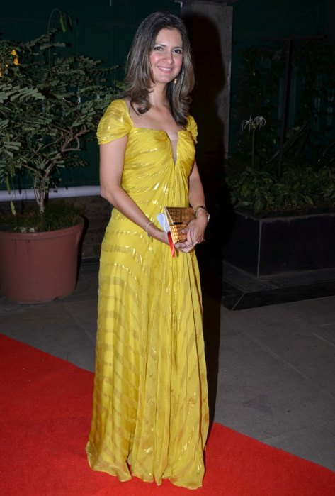 Ronitaa Italia Dhanu (‎Editor, BBC GoodHomes) at the Red Carpet of GoodHomes Awards 2014 at Sofitel,BKC