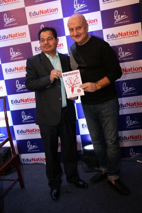 Dr Vasudevan Pilla & Actor Anupam Kher @ Book Launch - EduNation by Dr Pillai_09