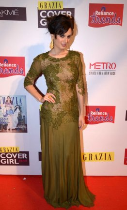 Evelyn Sharma at the Grazia Cover Girl Hunt Finale.