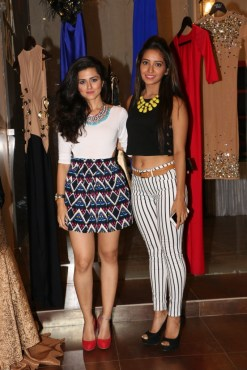 Riddhi Dogra and Asha Negi @ Designer HARSH HARSH's SS 2015 preview soiree