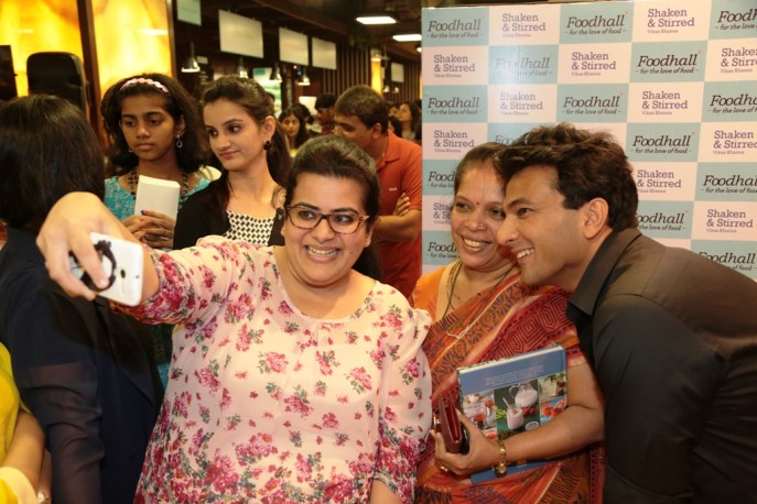 Selfie moment at Foodhall