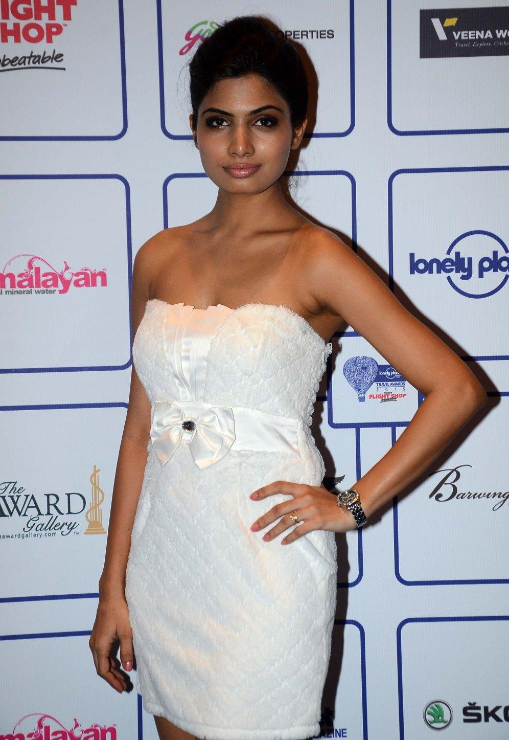 Avani Modi (of Calendar Girl's Movie) at the 'Lonely Planet Travel Awards 2015' at JW Marriot Sahar.1