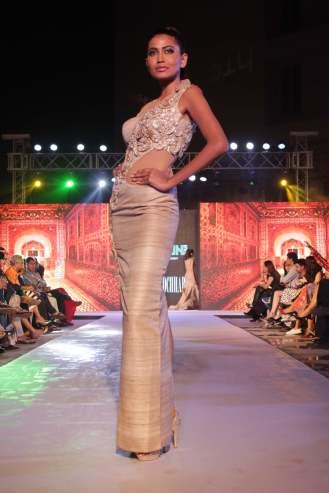Archana Kochhar's collection @ Tech Fashion Tour