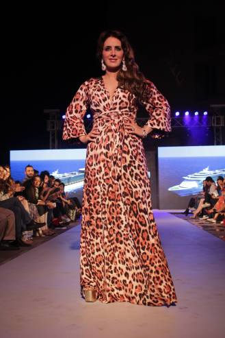 Pria Kataaria Puri@Tech Fashion Tour