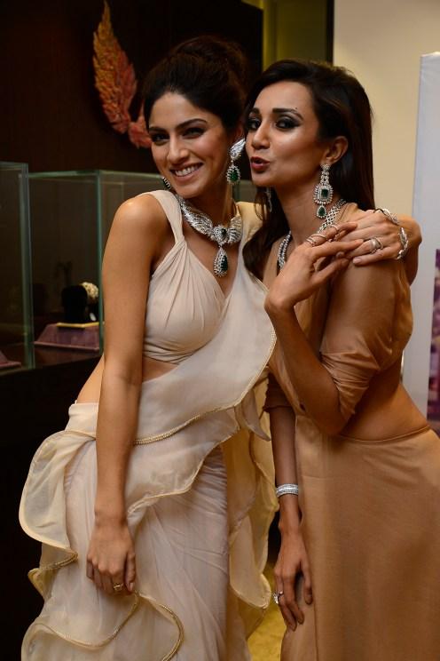 Sapna Pabbi and Ira Dubey at Jaipur Jewels Myga Collection Launch