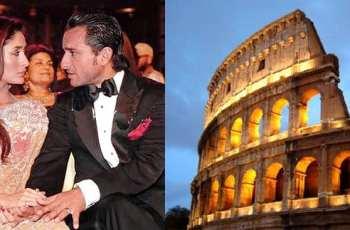 Saif and Kareena are planing to go Rome