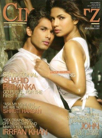 Shahid y Priyanka, en CineBlitz!!!