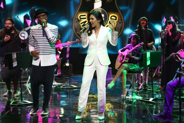 Benny Dayal and Neeti Mohan