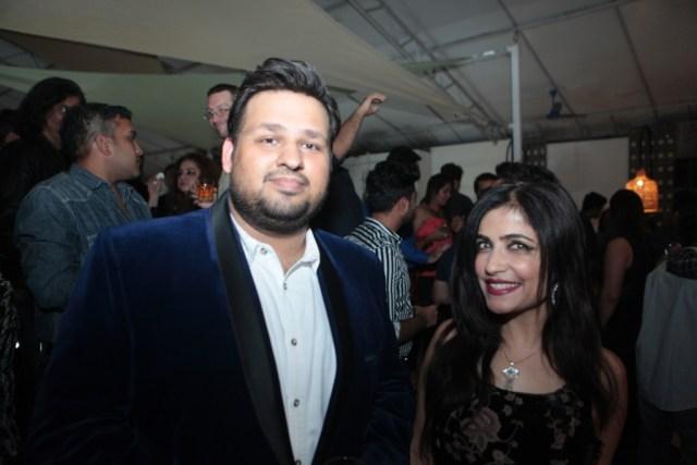 Chirag Wadhwa with Shibani Kashyap