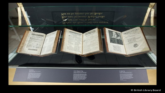 First Folio- William Shakespeare