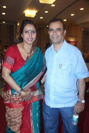 Shomu Mitra with Yogesh Lakhani