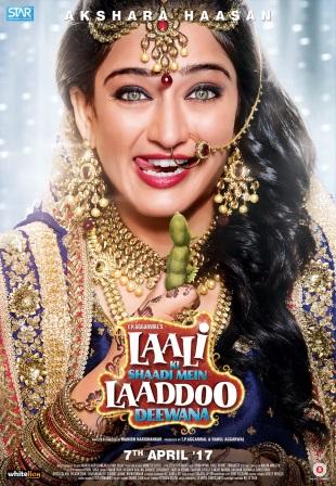 Akshara Haasan as Laali