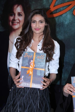 Athiya Shetty at the launch of Nina Lekhi's Book