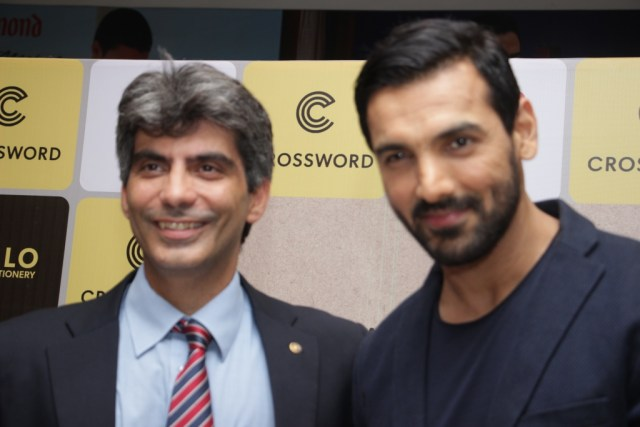 Aashish Contractor and John Abraham