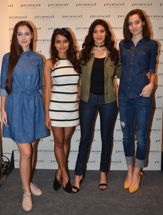 Amyra Dastur and Bornali Talukdar at Promod Denim Atelier