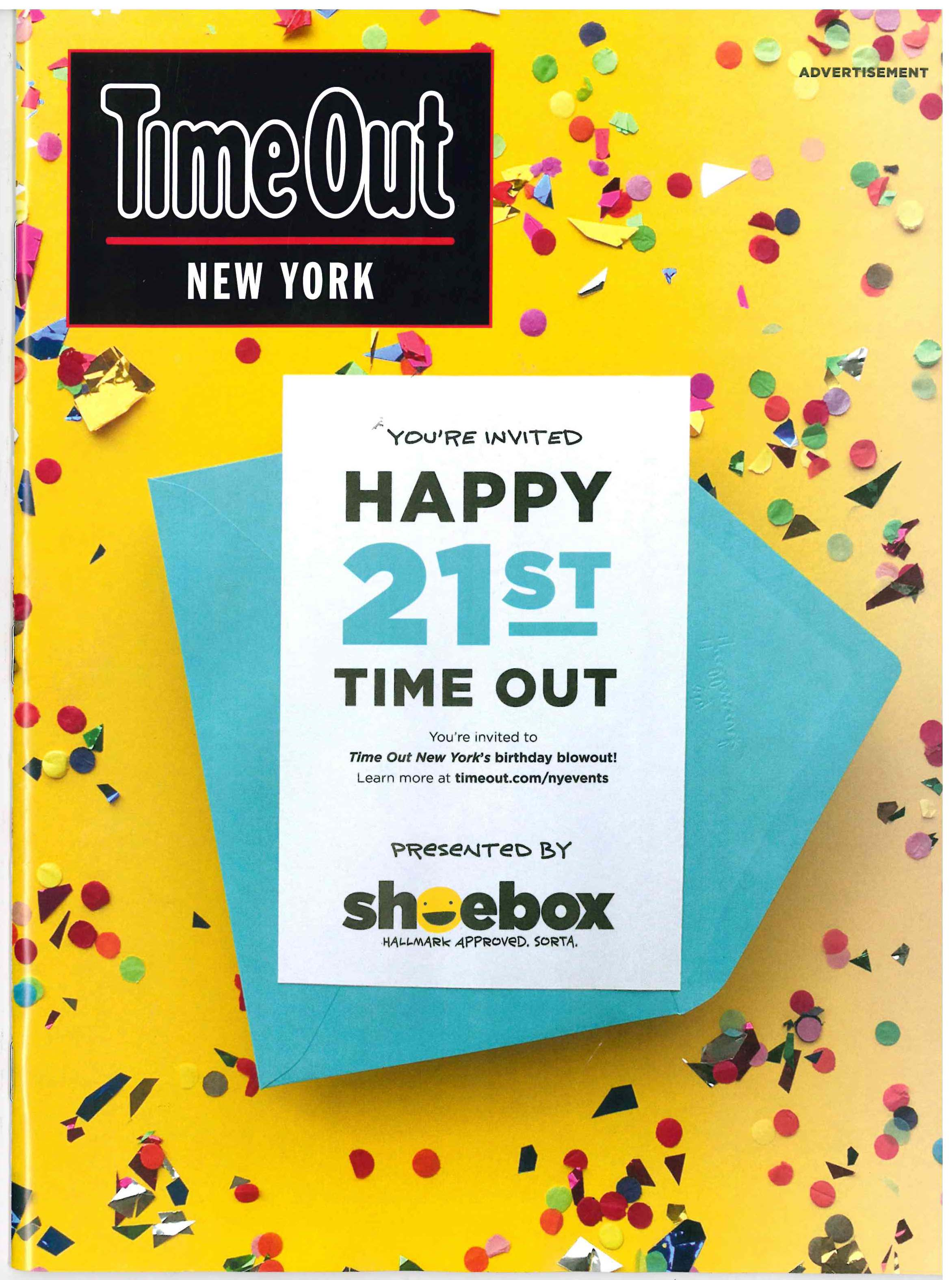 Time Out New York Cover