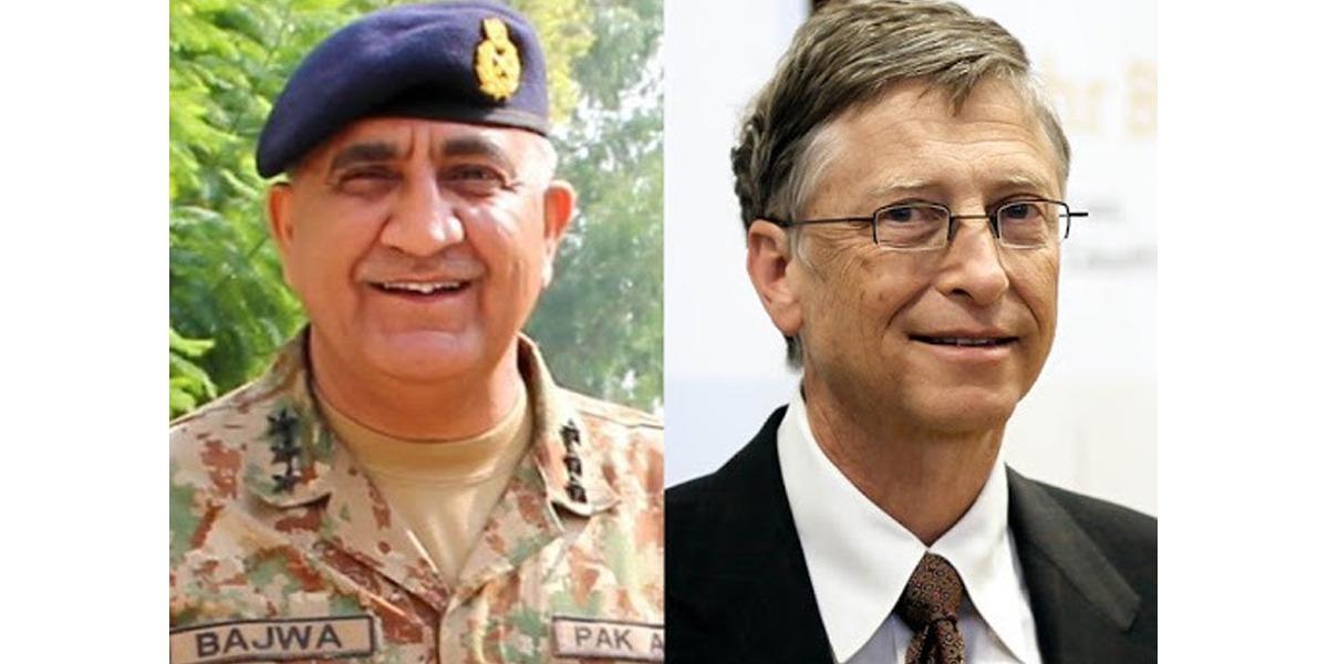 Photo of COAS, Bill Gates discuss polio eradication drive in Pakistan
