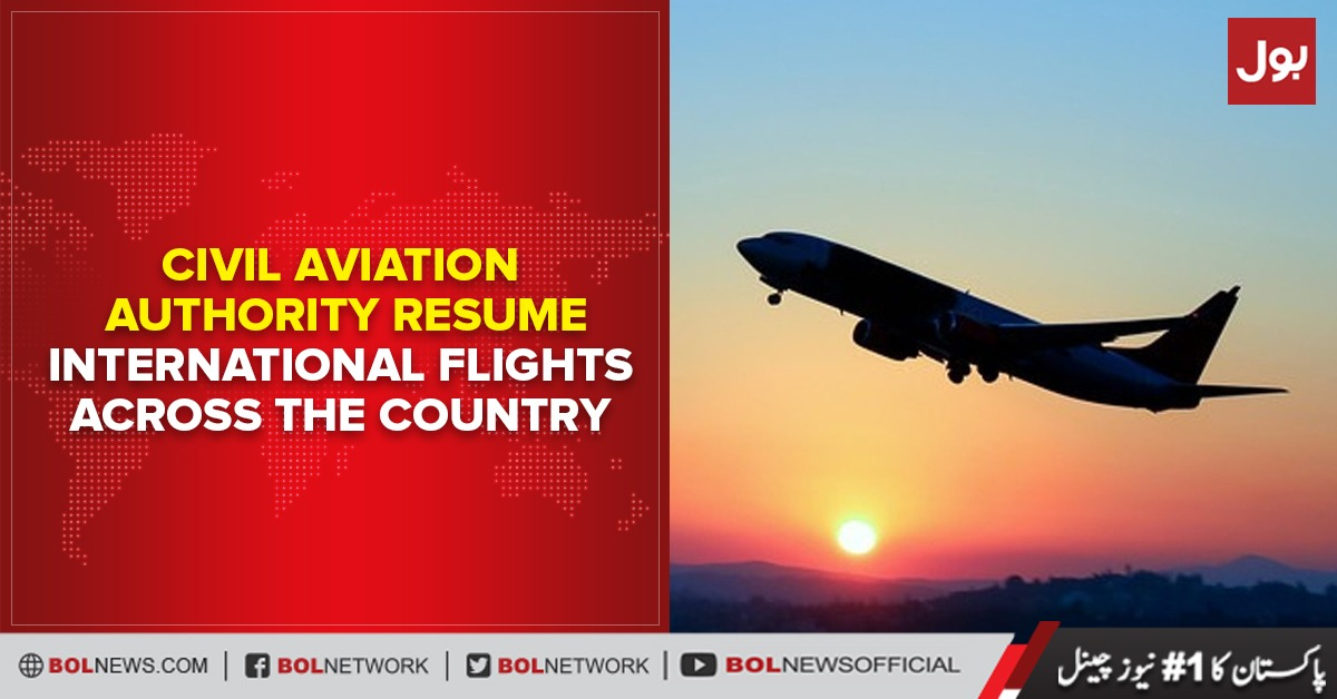 Photo of Civil Aviation Authority resume international flights across the country