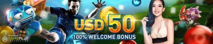 Welcome Bonus $50