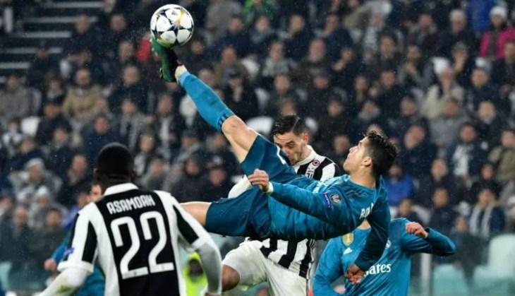 Aksi Ronaldo permalukan Juventus UCL 04/2018