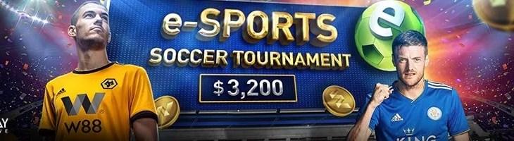 W88 August e-Sports soccer tournament