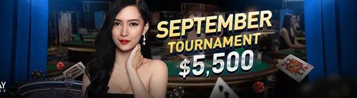 September Casino Tournament