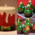 10 decorações de bolos para o natal….