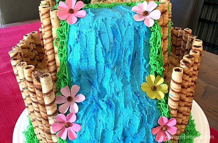 Moana Birthday Cake 2 1 - Como fazer um bolo Moana