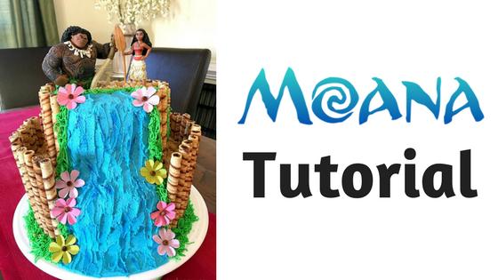 Como fazer um bolo Moana
