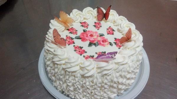 Torta de Borboletas