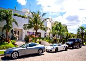 casa e carros