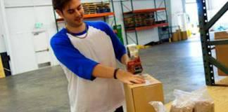 warehouse Shipping y receiving empacadores packing