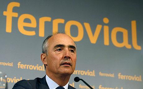 Ferrovial baja en bolsa tras el proceso de venta