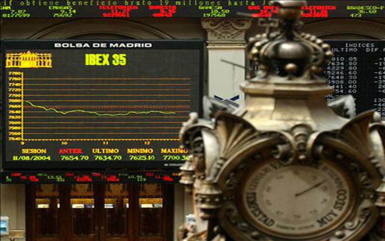 La banca lidera el avance de la bolsa española