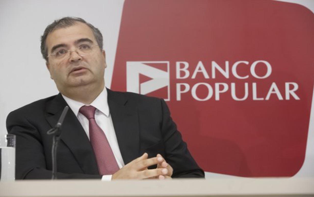 Banco Popular cotiza en nu00fameros rojos