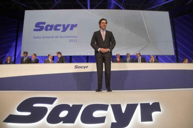 Sacyr lidera el Ibex con subidas en torno al 3%