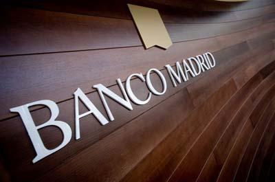Banco Madrid quiere retomar la actividad