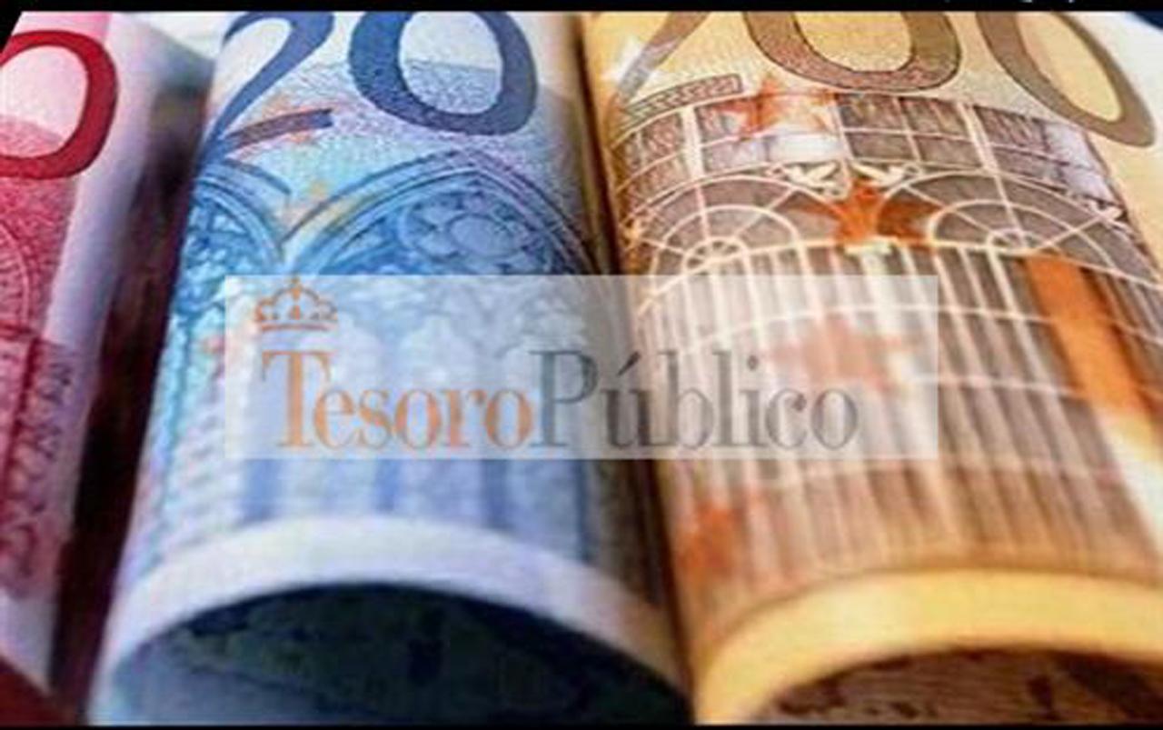El Tesoro Pu00fablico obtiene 3.495 millones