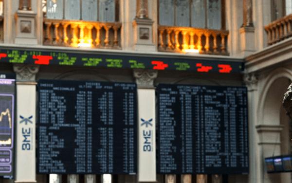 La Bolsa de Madrid sube un 0,19% al término de la sesión